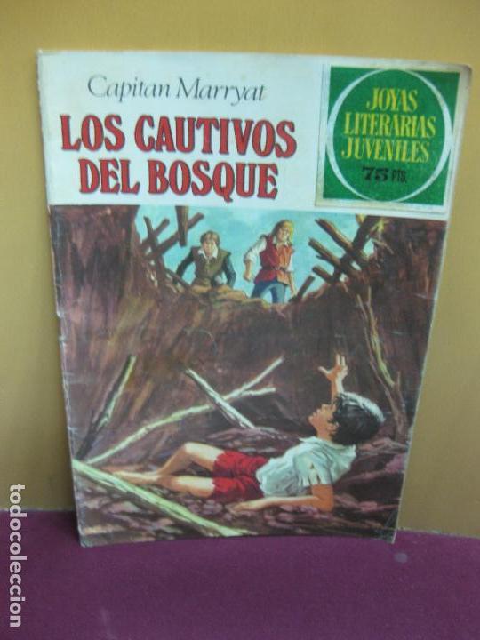 JOYAS LITERARIAS JUVENILES Nº 132. LOS CAUTIVOS DEL BOSQUE. CAPITAN MARRYAT. 1981 (Tebeos y Comics - Bruguera - Joyas Literarias)