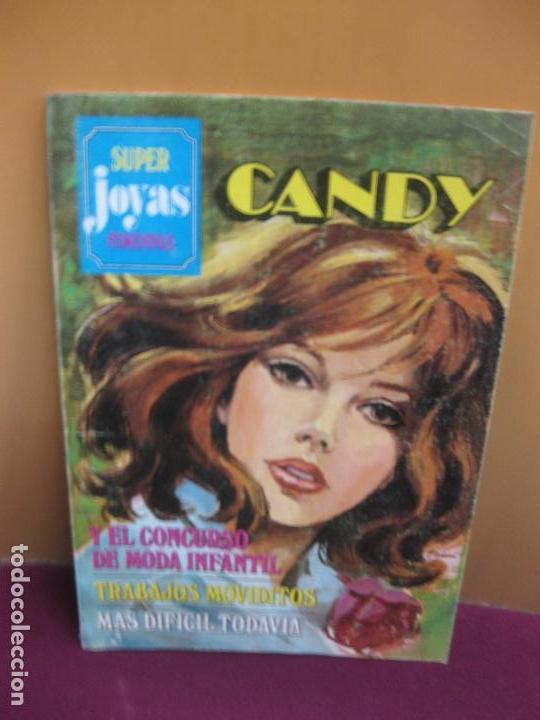 SUPER JOYAS FEMENINAS SERIE AZUL. Nº 18. CANDY. VER DESCRIPCION.... 1ª EDICION 1981 (Tebeos y Comics - Bruguera - Joyas Literarias)