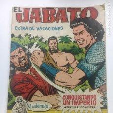 Tebeos: EL JABATO EXTRA DE VACACIONES 1961. Lote 129973247
