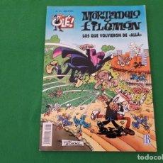 Tebeos: MORTADELO Y FILEMON – LOS QUE VOLVIERON DE ALLA – OLE. Lote 129983675