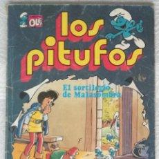 BDs: COMIC LOS PITUFOS: EL SORTILEGIO DE MALASOMBRA - COLECCION OLE, Nº 12. Lote 130019731