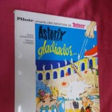 Tebeos: ASTERIX GLADIADOR. EDITORIAL BRUGUERA. 1968. Lote 130051947