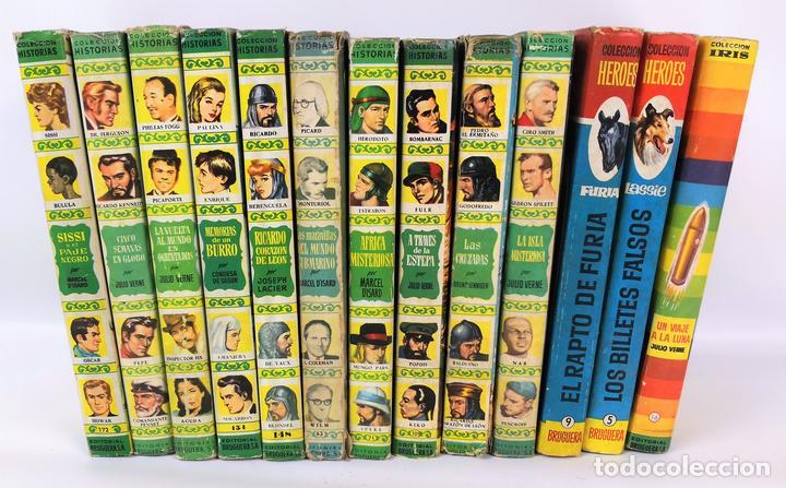 LOTE DE 13 VOLÚMENES BRUGUERA. VARIOS AUTORES. BARCELONA. 1958/1963. (Tebeos y Comics - Bruguera - Otros)