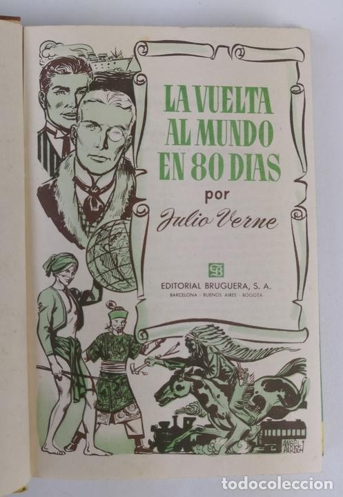 Tebeos: LOTE DE 13 VOLÚMENES BRUGUERA. VARIOS AUTORES. BARCELONA. 1958/1963. - Foto 9 - 130175383