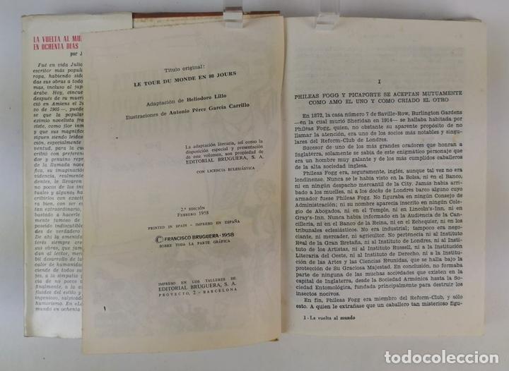 Tebeos: LOTE DE 13 VOLÚMENES BRUGUERA. VARIOS AUTORES. BARCELONA. 1958/1963. - Foto 10 - 130175383