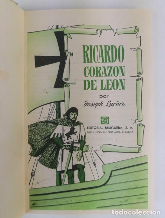 Tebeos: LOTE DE 13 VOLÚMENES BRUGUERA. VARIOS AUTORES. BARCELONA. 1958/1963. - Foto 15 - 130175383