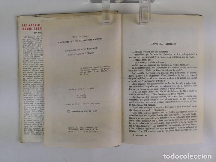 Tebeos: LOTE DE 13 VOLÚMENES BRUGUERA. VARIOS AUTORES. BARCELONA. 1958/1963. - Foto 24 - 130175383