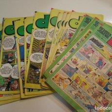 Tebeos: LOTE DDT LOTE 20 COMICS DDT FOTOS DE TODOS LOS COMICS. Lote 130284642