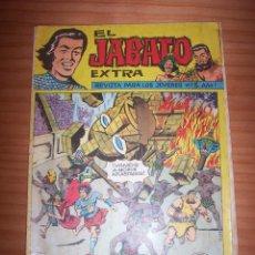 Tebeos: EL JABATO EXTRA - NÚMERO 3: ¡EL FIN DEL ÍDOLO! - AÑO 1962. Lote 130323874