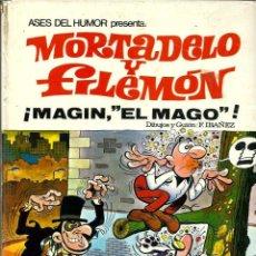 Tebeos: ASES DEL HUMOR Nº 12 - MORTADELO Y FILEMON - MAGIN, EL MAGO - BRUGUERA 1972 1ª EDICION. Lote 130357226