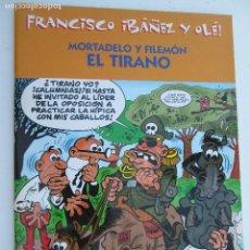 Tebeos: MORTADELO Y FILEMÓN - EL TIRANO. Lote 130449570