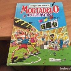 Tebeos: MAGOS DEL HUMOR Nº 4 MORTADELO Y FILEMON LOS ANGELES 84 TAPA DURA (COIM3). Lote 206134515