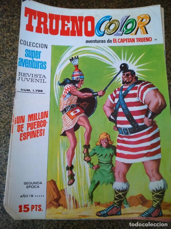 TRUENO COLOR - Nº 41 -- COLECCION SUPER AVENTURAS Nº 1799 -- SEGUNDA EPOCA -- (Tebeos y Comics - Bruguera - Capitán Trueno)