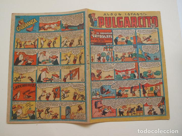 PULGARCITO Nº 224 - ALBUM INFANTIL - BRUGUERA 1951 - INSPECTOR DAN (Tebeos y Comics - Bruguera - Otros)