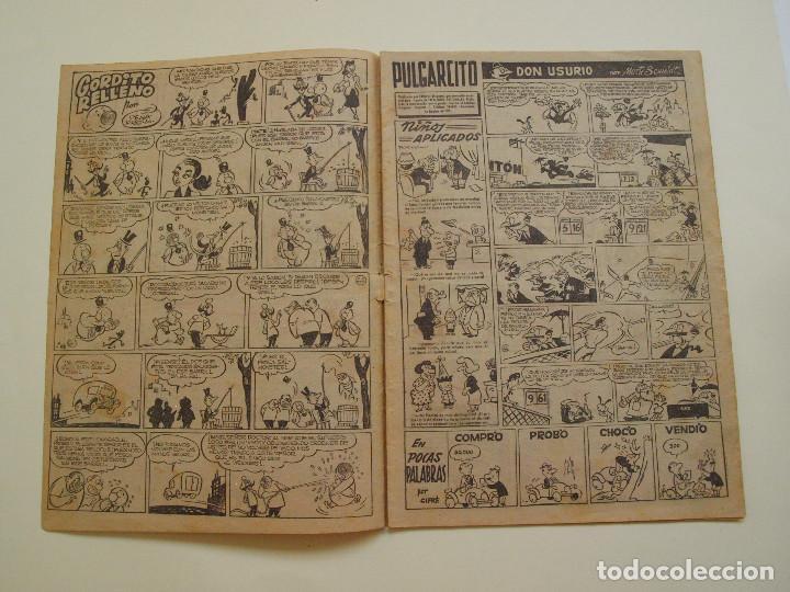 Tebeos: PULGARCITO Nº 224 - ALBUM INFANTIL - BRUGUERA 1951 - INSPECTOR DAN - Foto 2 - 130629710