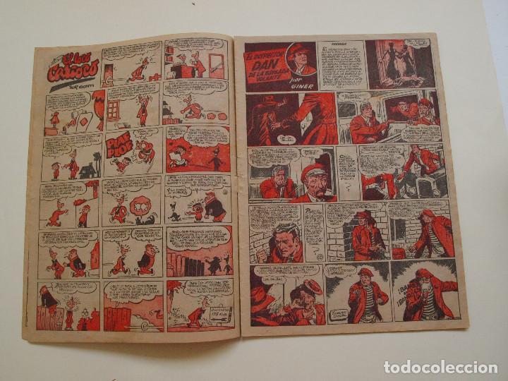 Tebeos: PULGARCITO Nº 224 - ALBUM INFANTIL - BRUGUERA 1951 - INSPECTOR DAN - Foto 3 - 130629710