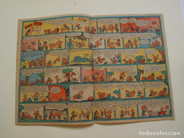 Tebeos: PULGARCITO Nº 224 - ALBUM INFANTIL - BRUGUERA 1951 - INSPECTOR DAN - Foto 4 - 130629710