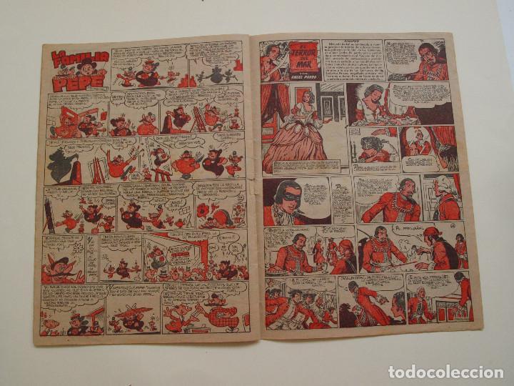 Tebeos: PULGARCITO Nº 224 - ALBUM INFANTIL - BRUGUERA 1951 - INSPECTOR DAN - Foto 5 - 130629710