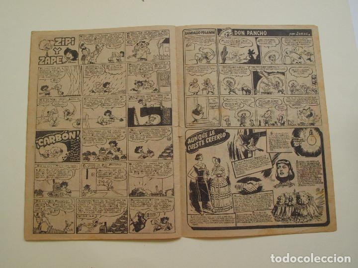 Tebeos: PULGARCITO Nº 224 - ALBUM INFANTIL - BRUGUERA 1951 - INSPECTOR DAN - Foto 6 - 130629710