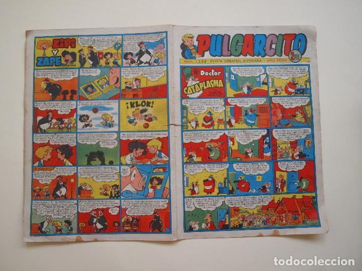PULGARCITO Nº 1200 - AÑO XXXIV - REVISTA SEMANAL ILUSTRADA - BRUGUERA 1954 - INSPECTOR DAN (Tebeos y Comics - Bruguera - Otros)