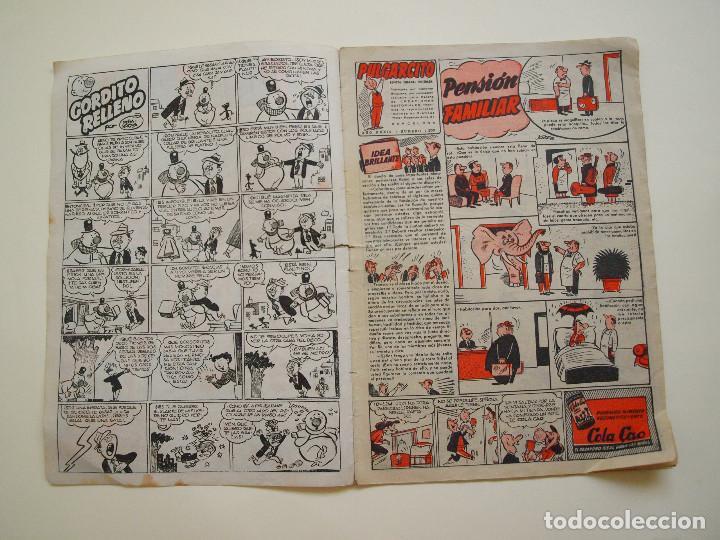 Tebeos: PULGARCITO Nº 1200 - AÑO XXXIV - REVISTA SEMANAL ILUSTRADA - BRUGUERA 1954 - INSPECTOR DAN - Foto 2 - 130633514