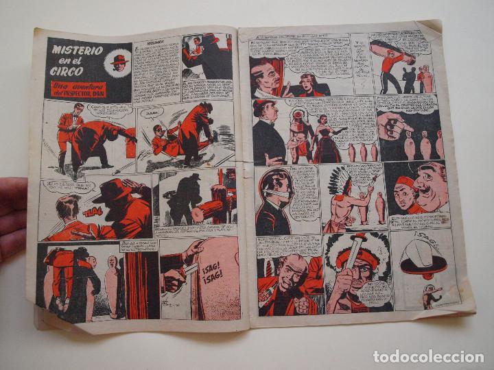 Tebeos: PULGARCITO Nº 1200 - AÑO XXXIV - REVISTA SEMANAL ILUSTRADA - BRUGUERA 1954 - INSPECTOR DAN - Foto 3 - 130633514