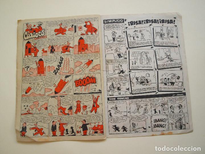 Tebeos: PULGARCITO Nº 1200 - AÑO XXXIV - REVISTA SEMANAL ILUSTRADA - BRUGUERA 1954 - INSPECTOR DAN - Foto 5 - 130633514