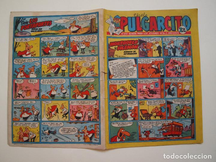 PULGARCITO Nº 1452 - AÑO XXXIV - REVISTA PARA LOS JOVENES - BRUGUERA 1959 - CAPITAN TRUENO (Tebeos y Comics - Bruguera - Otros)