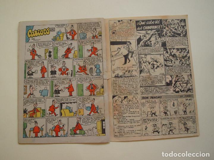 Tebeos: PULGARCITO Nº 1452 - AÑO XXXIV - REVISTA PARA LOS JOVENES - BRUGUERA 1959 - CAPITAN TRUENO - Foto 5 - 130635338