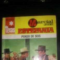 Tebeos: NOVELA DE MARCIAL LAFUENTE ESTEFANIA. POKER DE SEIS. ED. BRUGUERA.. Lote 130643888