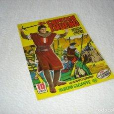 Tebeos: EL CAPITAN TRUENO. ALBUM GIGANTE Nº 43: EL VIEJO DEL ESCARPADO - EDITORIAL BRUGUERA 1964. Lote 130717059
