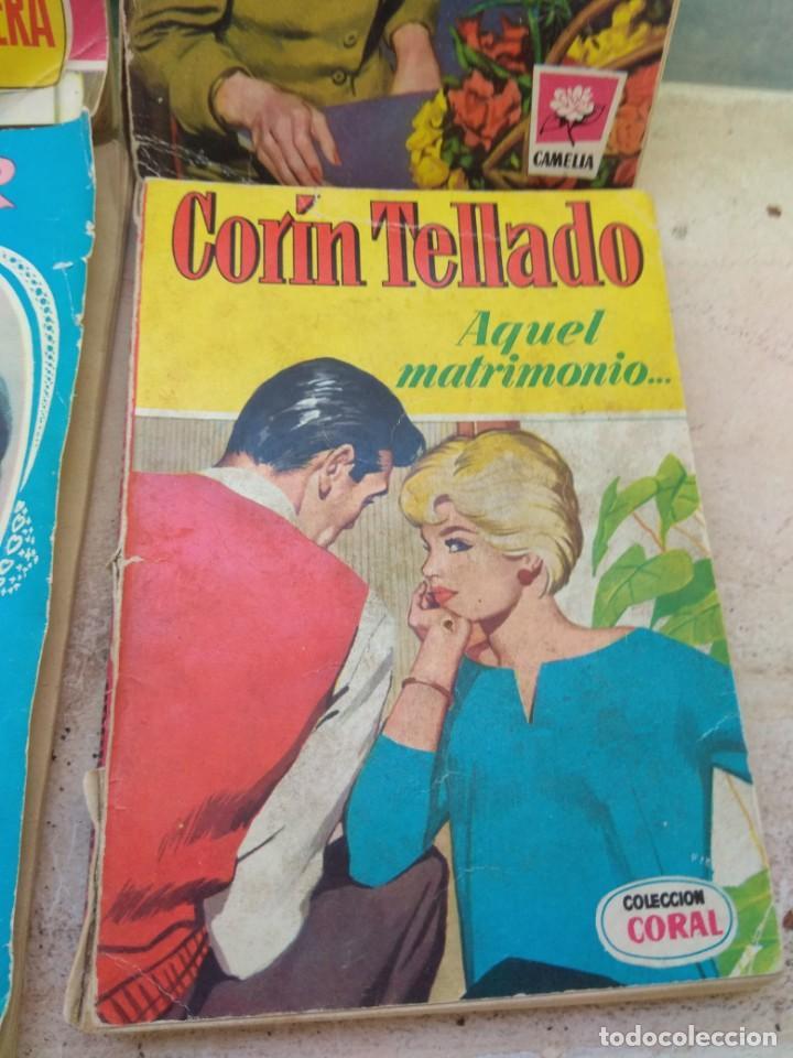 Tebeos: Lote Novelas Corin Tellado - Amparo Lara - Serie Amor - Foto 3 - 130794756