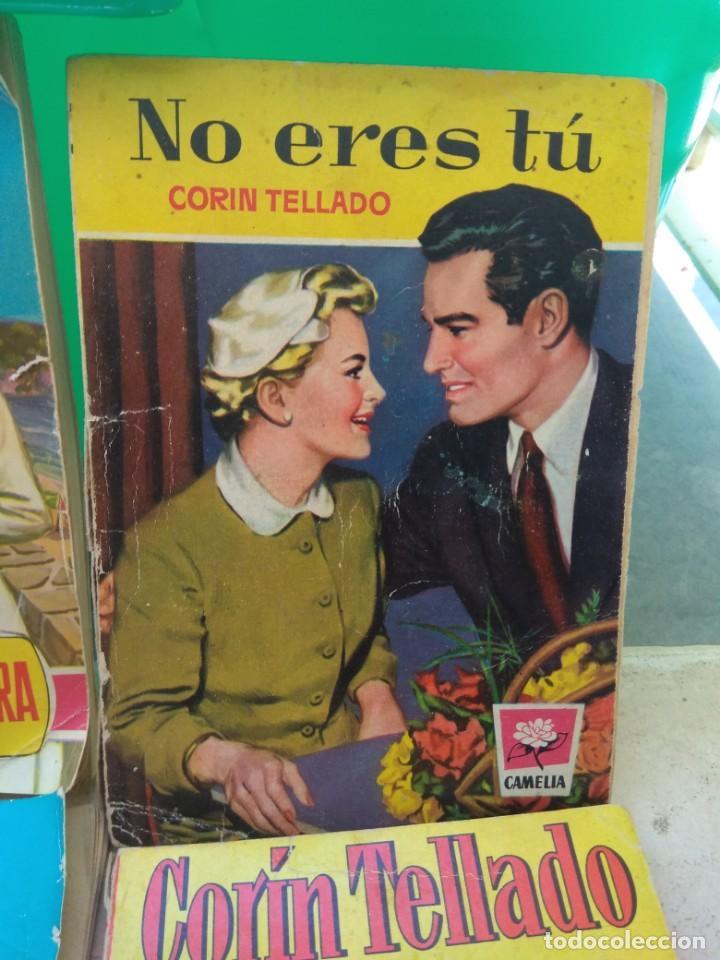 Tebeos: Lote Novelas Corin Tellado - Amparo Lara - Serie Amor - Foto 4 - 130794756