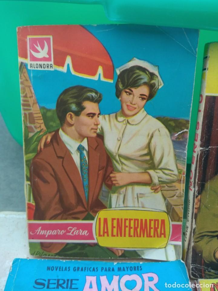 Tebeos: Lote Novelas Corin Tellado - Amparo Lara - Serie Amor - Foto 5 - 130794756
