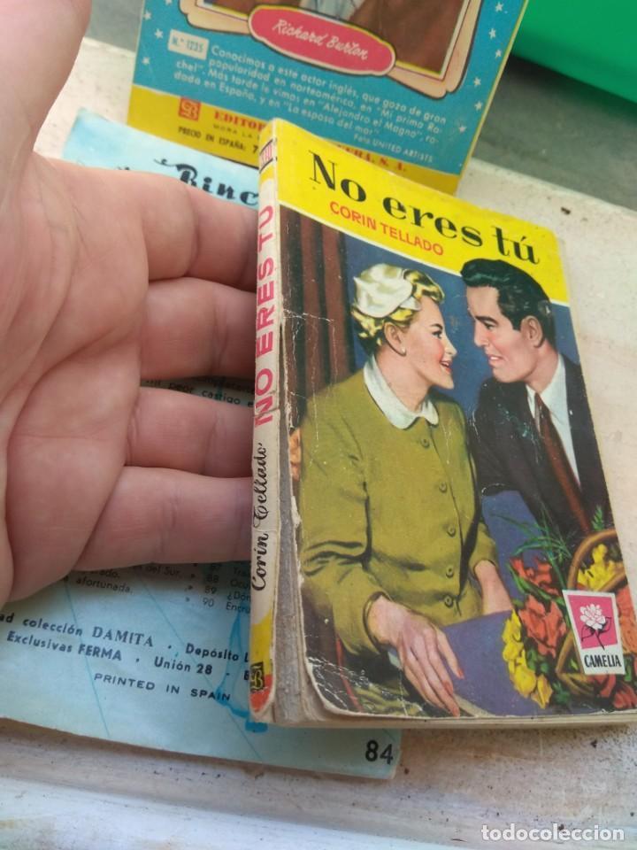 Tebeos: Lote Novelas Corin Tellado - Amparo Lara - Serie Amor - Foto 8 - 130794756
