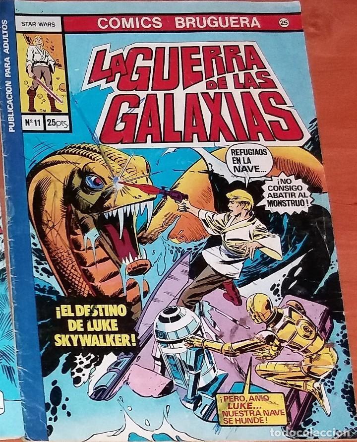LA GUERRA DE LAS GALAXIAS (Tebeos y Comics - Bruguera - Otros)