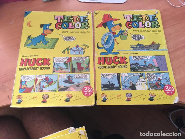 Tebeos: TELE COLOR LOTE Nº 10, 11, 13, 18, 19, 20, 21, 23, 28, 32 (ED. BRUGUERA) (COIM9) - Foto 6 - 130847776