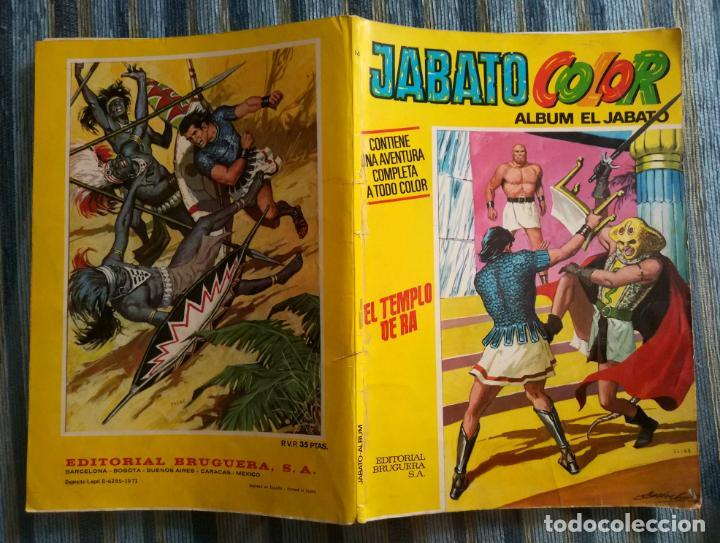 ALBUM JABATO COLOR (PRIMERA EPOCA) N° 16: EL TEMPLO DE RA (BRUGUERA 1971) (Tebeos y Comics - Bruguera - Jabato)