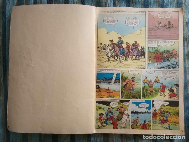 Tebeos: ALBUM JABATO COLOR (PRIMERA EPOCA) N° 16: EL TEMPLO DE RA (BRUGUERA 1971) - Foto 2 - 130969016