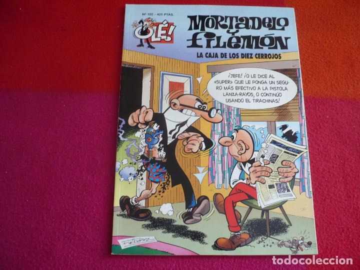 MORTADELO Y FILEMON LA CAJA DE LOS DIEZ CERROJOS ( IBAÑEZ ) ¡MUY BUEN ESTADO! OLE Nº 102 (Tebeos y Comics - Bruguera - Ole)