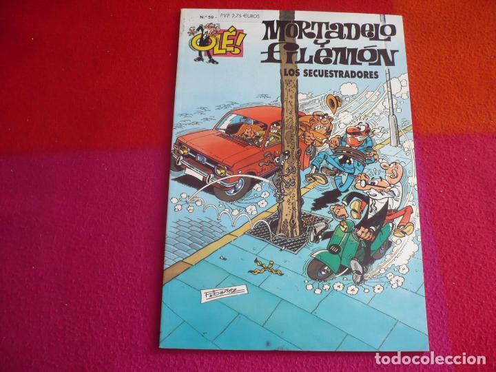 MORTADELO Y FILEMON LOS SECUESTRADORES ( IBAÑEZ ) ¡MUY BUEN ESTADO! OLE Nº 59 segunda mano