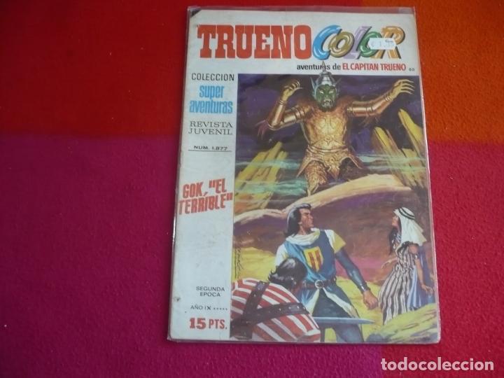 TRUENO COLOR Nº 80 GOK EL TERRIBLE AÑO IX 2ª SEGUNDA EPOCA BRUGUERA 15 PTS EL CAPITAN TRUENO (Tebeos y Comics - Bruguera - Capitán Trueno)