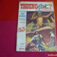 Tebeos: TRUENO COLOR Nº 80 GOK EL TERRIBLE AÑO IX 2ª SEGUNDA EPOCA BRUGUERA 15 PTS EL CAPITAN TRUENO. Lote 131033852