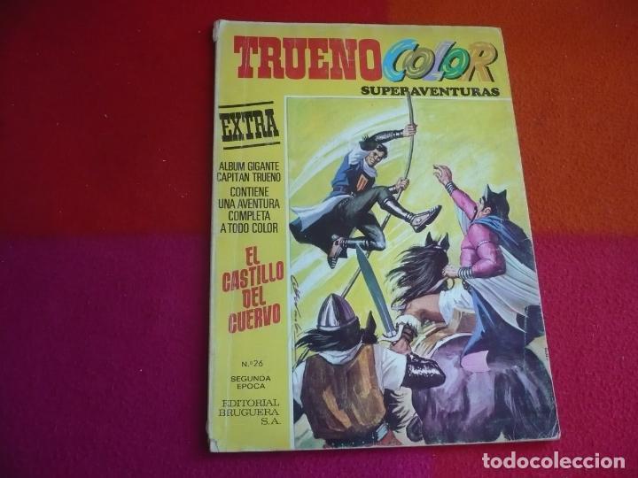 TRUENO COLOR EXTRA 26 EL CASTILLO 2ª SEGUNDA EPOCA BRUGUERA EL CAPITAN TRUENO SUPERAVENTURAS (Tebeos y Comics - Bruguera - Capitán Trueno)