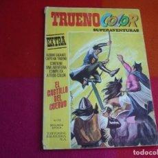 Tebeos: TRUENO COLOR EXTRA 26 EL CASTILLO 2ª SEGUNDA EPOCA BRUGUERA EL CAPITAN TRUENO SUPERAVENTURAS. Lote 131034952