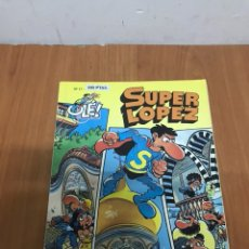 Tebeos: COMIC TEBEO SUPER LOPEZ 1993 350 PESETAS COMO NUEVO NUMERO 17 VER FOTO ES EL MISMO. Lote 131045153