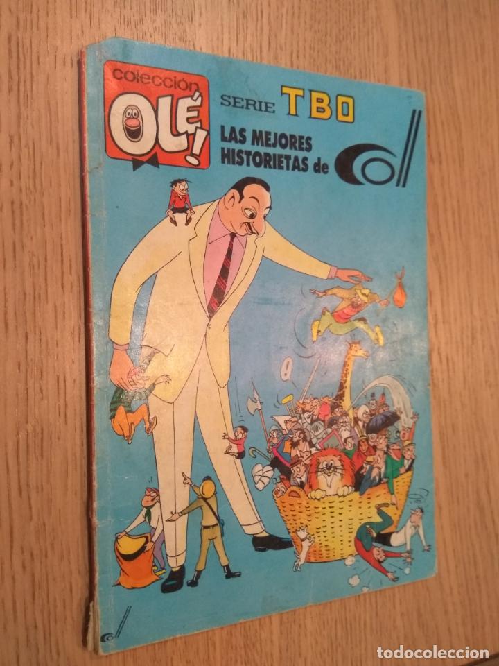 OLE SERIE TBO Nº 410 V. 28. LAS MEJORES HISTORIETAS DE COLL. EDICIONES B. 1989 (Tebeos y Comics - Bruguera - Ole)