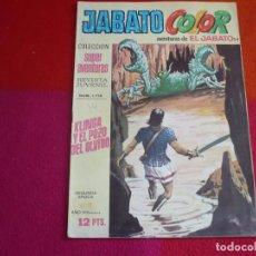 Tebeos: JABATO COLOR 54 KLING Y EL POZO DEL OLVIDO SEGUNDA EPOCA SUPERAVENTURAS BRUGUERA EL. Lote 131092744