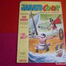 Tebeos: JABATO COLOR 104 COLMILLO SEGUNDA EPOCA SUPERAVENTURAS BRUGUERA EL. Lote 131093076