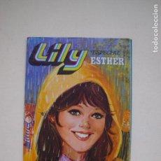 Tebeos: LILY ESPECIAL ESTHER Nº 12 - LLUVIAS MIL - BRUGUERA 1980 - POSTER DE CAMILO SESTO. Lote 131108400
